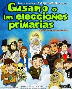 Cartel Gusano o las Elecciones Primarias - Más que palabras
